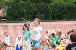 Dikke lol tijdens tenniskampen in Amsterdam