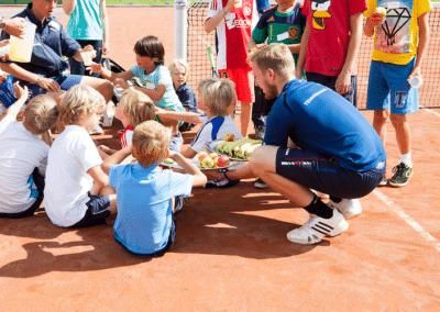 Gezond eten zomerkamp De Meer Tennis
