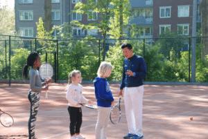 Tenniskamp Tennispark Sloterplas zomervakantie
